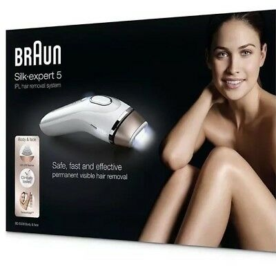 Braun Silk-expert 5 IPL Safe Permanent Laser Hair Removal Special Price BE QUICK