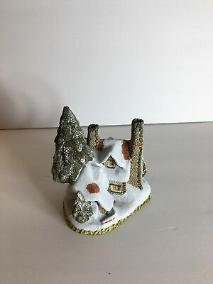 1984 David Winter Cottages, Snow Cottage, Christmas Collectible Gift Signed!