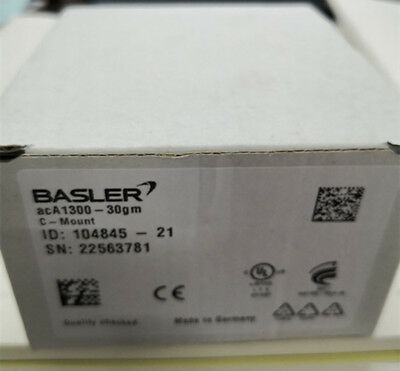 1pc New BASLER acA1300-30gm 1.3 megapixel industrial black and white CCD camera