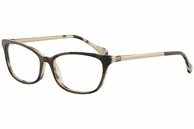 4e0f6733a1 Lilly Pulitzer Women s Eyeglasses Finsbury CC Chocolate Chip Optical Frame  52mm