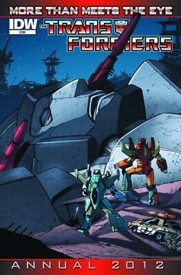 Transformers More Than Meets the Eye (2012) ANNUAL #   1 COVER A (9.4-NM)