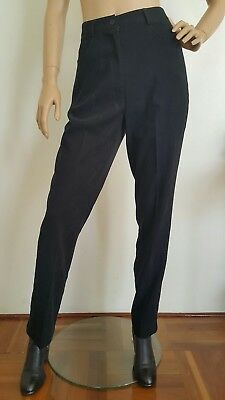 Vintage Retro High waisted mom pants Suede-like fabric Soft touch Size 10
