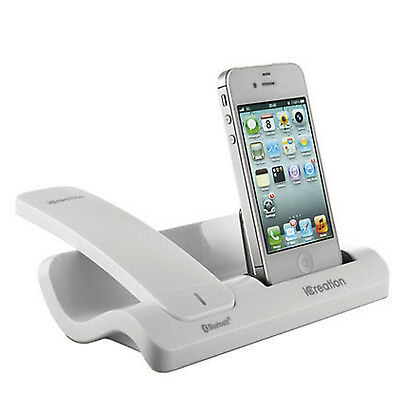 Telefono Inalambrico iCreation Bluetooth Base Para iPhone I-500 Nuevo