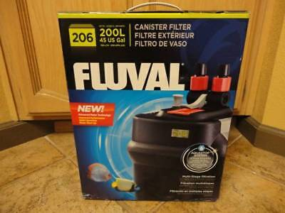 Fluval 206 External Canister Filter - Rated Up To 45 gallons,Aquarium,Fish Tank