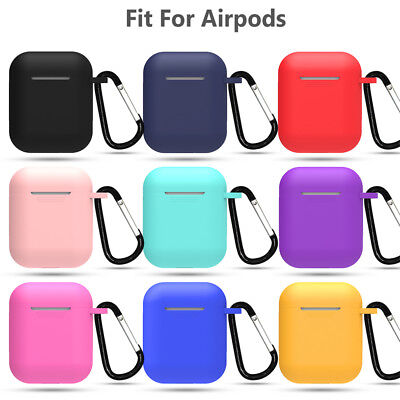 Pouch Candy Color Silicone Case Cover Protective Skin For Apple AirPods