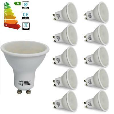 Bombillas LED GU10 6W 4W Lámpara Ligero No Regulable Equivalente 50W Pack 4/10