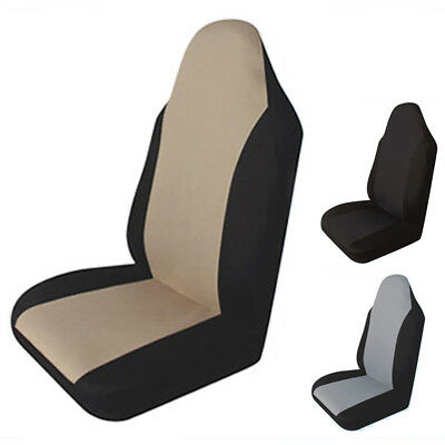 1Piece T21554BK Car Front Seat Cover Cushions Water-Resistant Completely Covered