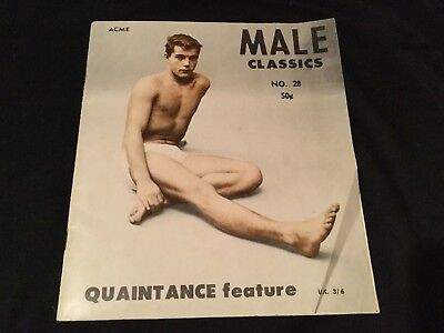 Rare Male Classics No 28 Acme Magazine Male Gay Interest Vintage Booklet