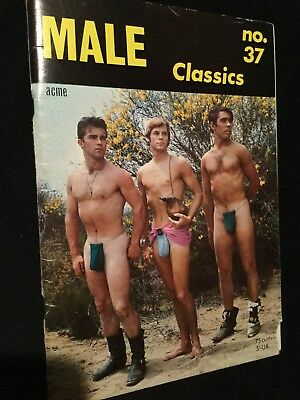 Rare Male Classics No 37 Acme Magazine Male Gay Interest Vintage Booklet