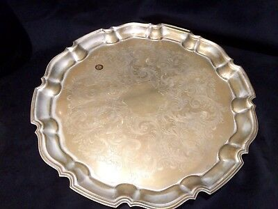 **Extra Large** English Silver Plated Tray