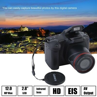Professional Display 16X Zoom HD 1080P Digital Camera Video Camcorder DVR US AA