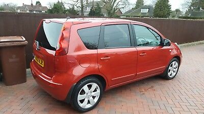 2008 Nissan note Tekna 1.6 petrol manual gearbox