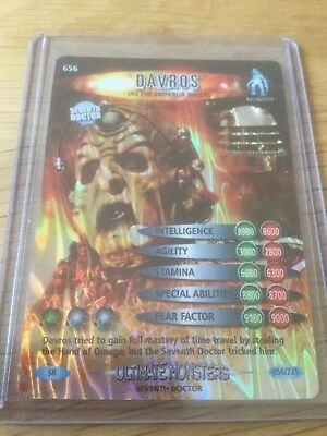 Dr Who - Battles in Time - Ultimate Monsters - SR - Davros - 056/225