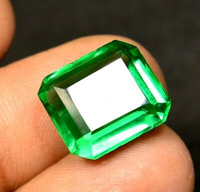 7.00 Ct Natural VVS Transparent Columbian Emerald Gemstone CERTIFIED