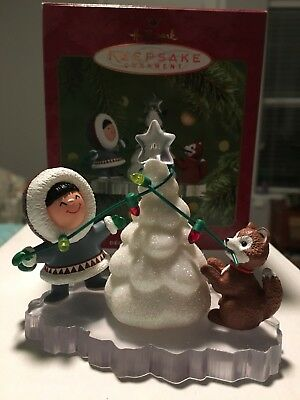 Hallmark Keepsake Ornament Frosty Friends 2001
