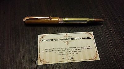 * NEW Bundy 308 Bullet Pen made with Bundaberg Vat Bundy *