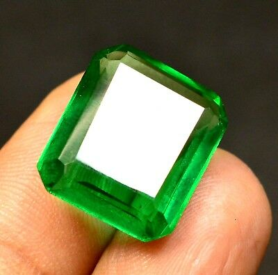 13.00  Ct Natural VVS Transparent Columbian Emerald gemstone CERTIFIED