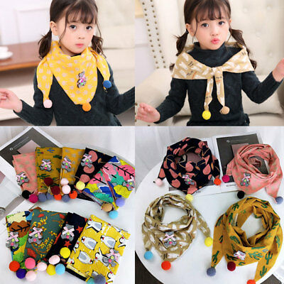 Cotton Linen Autumn and Winter O ring Shawl scarf Children Scarf  Neck Scarves