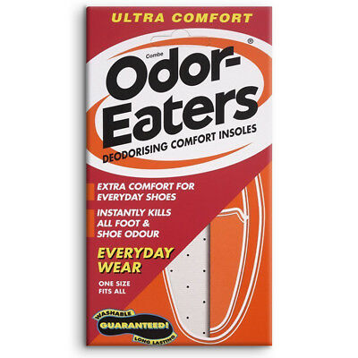 Odor-Eaters Deodorising Ultra Comfort Insoles Absorbs Sweat - For Everyday Shoes