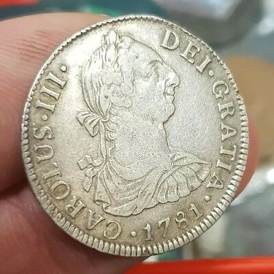 1781 Mexico 2 Reales Coin