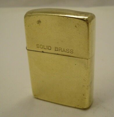 Zippo 1932-1990 Solid Brass Commemorative 58th Lighter