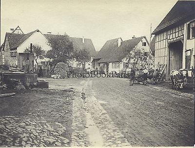 Suisse Allemagne France ? Photo Vintage argentique ca 1905