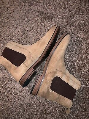 a3bb158e8951 NEW REPUBLIC BY Mark McNairy Chuck Chelsea Boots Size 12 Men s Brown ...