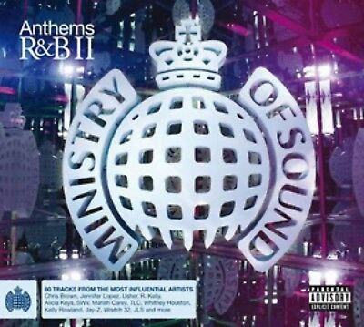 Ministry Of Sound - R&B Anthems - Volume II [New & Sealed] 3 CDs