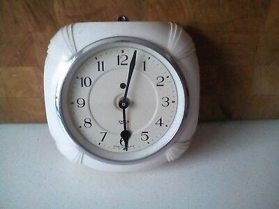 Smiths Wall clock- 30's Art Deco For repair