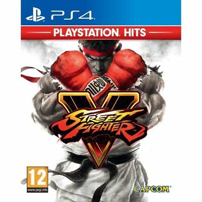 Street Fighter V 5 * Playstation Hits - PS4 IMPORT neuf sous blister