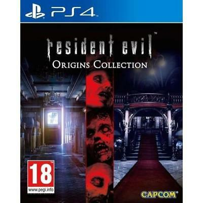Resident Evil Origins Collection - PS4 IMPORT neuf sous blister