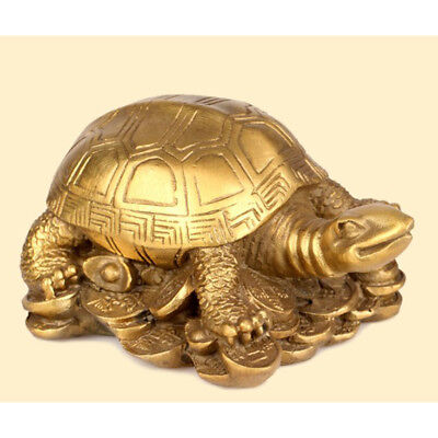 Collection Statue Coin Mascot Bliss Brass Dragon Turtle Tabletop Ornament b