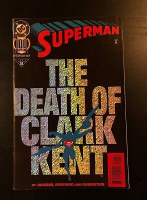 DC Comics | Superman #100 Centennial Edition | 1995 | The Death of Clark Kent