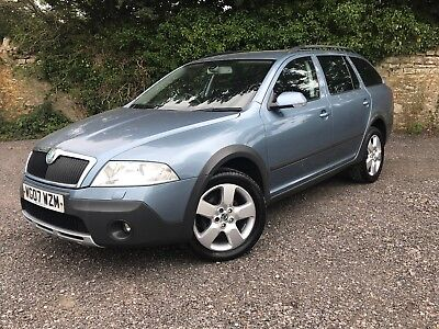 Skoda Octavia Scout, 4X4, Xenons, Good History, Recent Cambelt, P/x To Clear