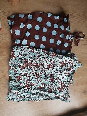 2 lovely  Palm & Pond  Breastfeeding Covers