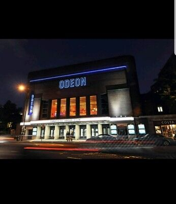 Odeon Cinema Tickets x 1 for all UK to use for Adults or Children's