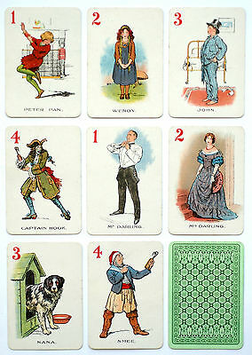 1910 'THE PICTORIAL GAME OF PETER PAN' card game.London. Artist: CHAS. A. BUCHEL