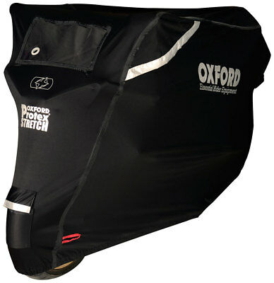 Oxford Protex Stretch-Fit Outdoor Premium Motorrad Abdeckplane Grösse: L