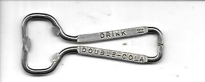 Vintage soda pop bottle opener DOUBLE-COLA #15