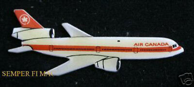 Air Canada Dc-10 Pin Broach Hat Lapel Pin Up Pilot Crew Gift Wing Jet Airliner