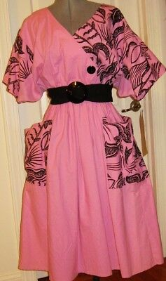 Robe Vintage Style Annees 50 Young Edwardian By Arpeja Neuve Made In Us 40/42/44