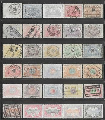 Belgium Parcel Post Collection All Pre 1910