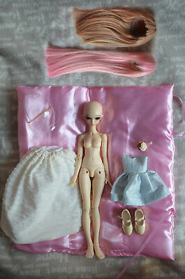 Minifee Chloe BJD Recast Fairyland MSD Doll Muñecas + Wigs, shoes & Clothes