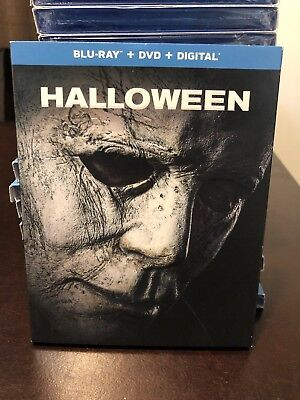 HALLOWEEN (2019) Blu-Ray + DVD + Digital NEW/SEALED W/SLIPCOVER - Free Ship