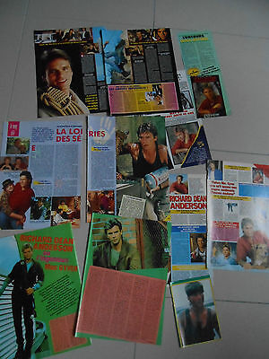 richard dean anderson, clippings,mac gyver