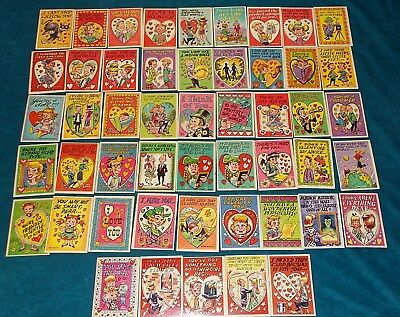 59 Very Nice Condition 1959 MY FUNNY VALENTINE Trading Cards