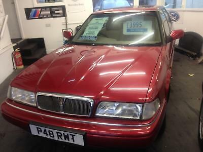 1996 Rover 825 STERLING AUTO 87530 MILES FSH £3495