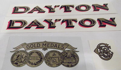 DAYTON MODEL 166 or 167 DECAL SET FOR CANDY SCALE - WATER TRANSFERS