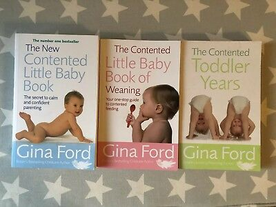 Gina Ford Bundle - Contented Baby, Contented Toddler, Complete Weaning