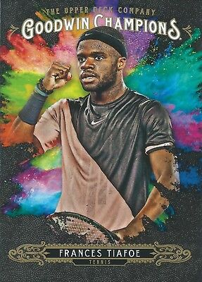 2018 Upper Deck Goodwin Champions #126 Frances Tiafoe Splash of Color Tennis ATP